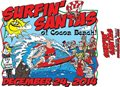 Christmas Eve With The Surfin Santas of Cocoa Beach