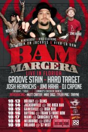Bam Margera at Levelz Night Club