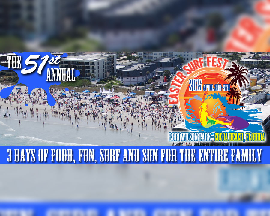 51st Sundance Ranch Easter Surfing Festival Cocoa Beach