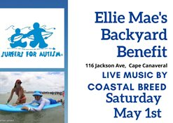 Ellie Mae's Backyard Benefit with Live Music by Coastal Breed