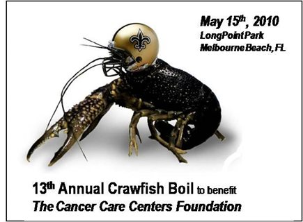 13th Annual Crawfish Boil at Long Point Park Melbourne Beach
