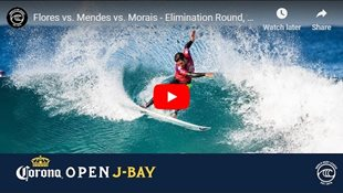 Flores vs. Mendes vs. Morais - Elimination Round, Heat 3 - Corona Open J-Bay 2019