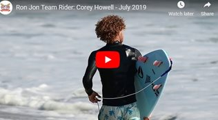 Ron Jon Team Rider: Corey Howell - July 2019