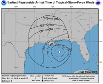 Potential surf coming to the Gulf Coast