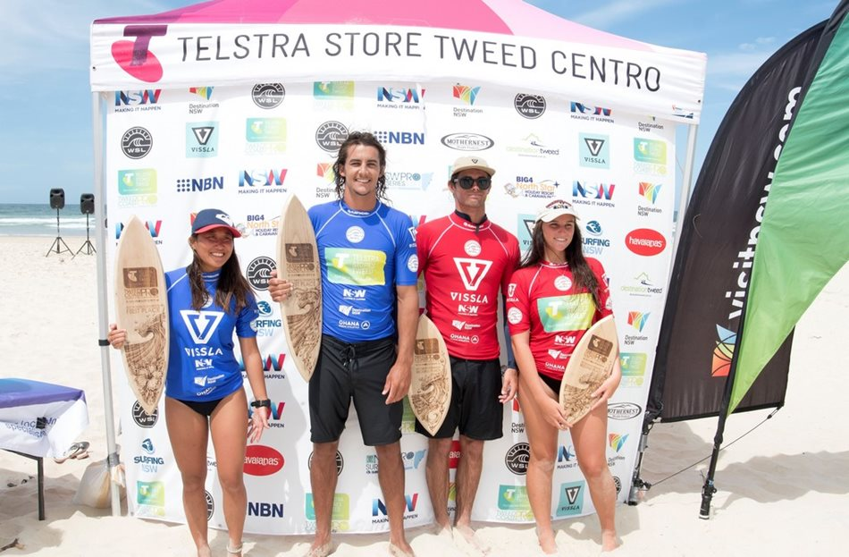 Watson and Hashimoto Victorious at 2017 Telstra Stores Tweed Coast Pro