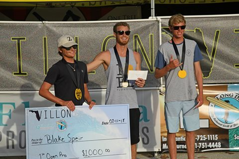 Villon Locals Only Surf Contest 2018 Awards Ceremony