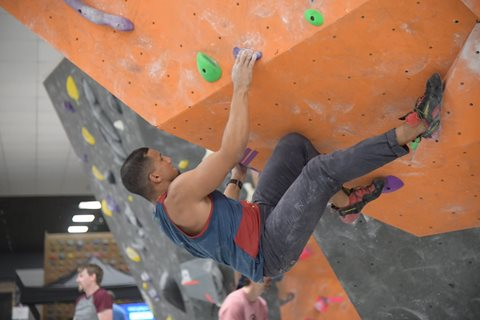 Villon 2020 Locals Only Bouldering Competition