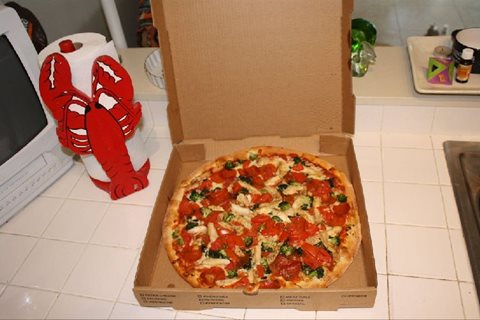 Aloha Pizza Party and Food Review