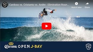 Cardoso vs. Cristanto vs. Andre - Elimination Round, Heat 4 - Corona Open J-Bay 2019
