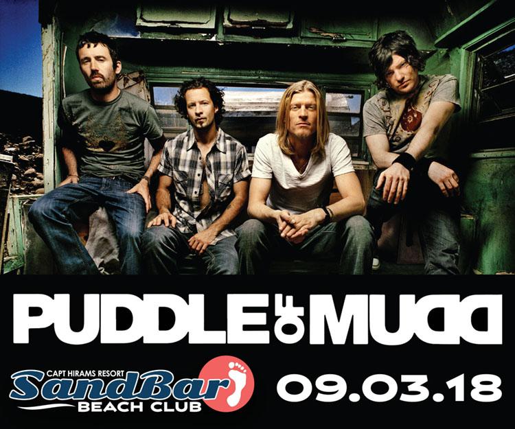 Puddle of Mudd - Resurrection Tour 2018 - Surf Guru Surf