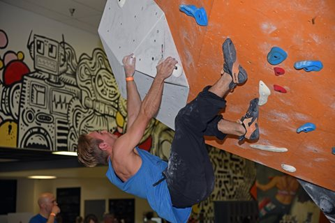 Locals Only Bouldering Competition