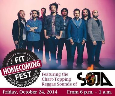 SOJA Headlines Florida Institute of Technology Homecoming Fest