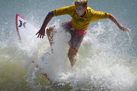 55th Annual Easter Surf Contest Grom Competition