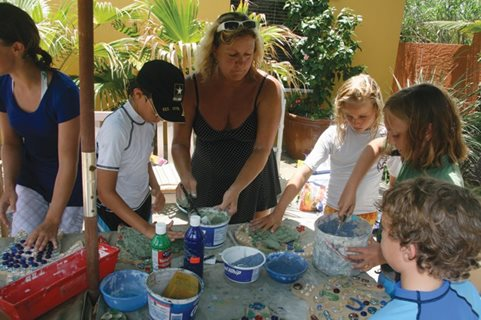 Mary Moon's Surf Art Camp