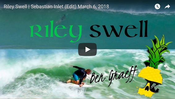 Riley Swell Sebastian Inlet March 6, 2018
