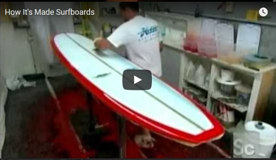 How It's Made Surfboards