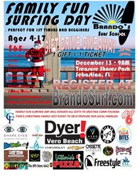 Family Fun Surfing Day - GIFT DRIVE