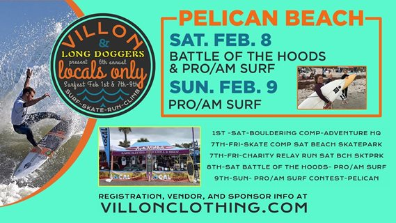Villon & Long Doggers Locals Only Surfest