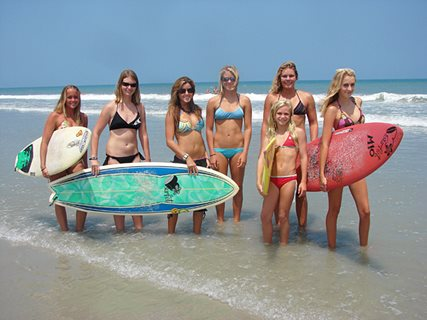 Surfet All Girls Surf Team
