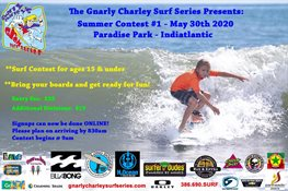 Gnarly Charley's Grom Surf Series - Contest 1