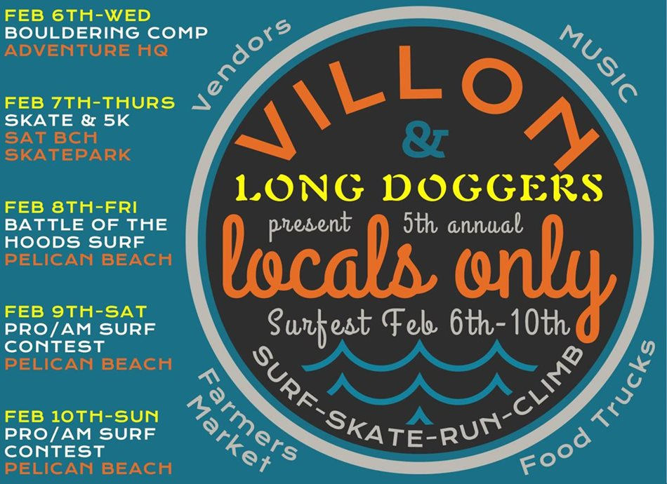 5th Annual Villon and Longdogger's  Locals Only Surfest