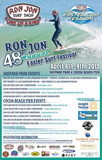Easter Surf Fest in Cocoa Beach Florida