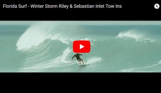 Winter Storm Riley and Sebastian Inlet Tow Ins