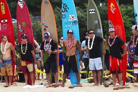 Quiksilver in Memory of Eddie Aikau Traditional Hawaiian Opening Ceremony this Thursday, December 5