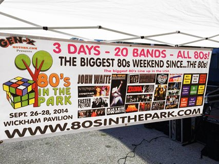 80's In The Park 2014 Music and 1980's Festival