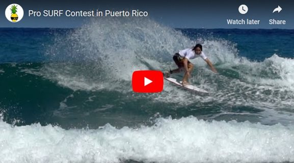 Pro SURF Contest in Puerto Rico