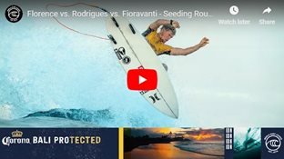 Florence vs. Rodrigues vs. Fioravanti - Seeding Round, Heat 1 - Corona Bali Protected 2019