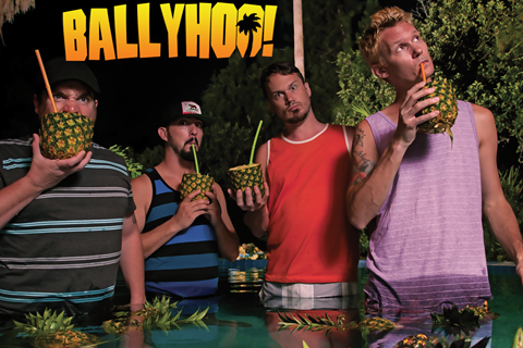 Ballyhoo! LIVE at Sports Page in Satellite Beach