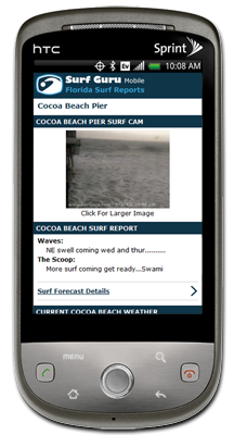 Surf Guru Cell Phone Mobile Surfing Site